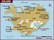 Here is a map of Iceland