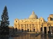 Exterior of the Basilica