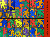 169. Keith Haring Action Poses