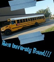 On our Way to Rice University!