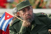 Llegada al poder del líder del ejército guerrerillo: Fidel Castro