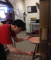 Putting in the Pizza