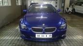 2008 BMW 650i.