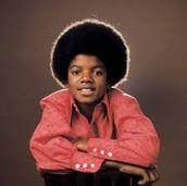 Micheal jackson as a kid
