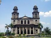 El Centro histórico de Managua
