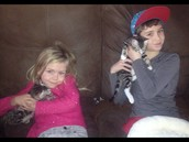 Me and Presley holding are cats