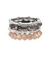 Katelyn Mixed Band Ring, Size 5 - $22