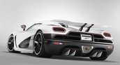 Koegnisegg Agera R Rear View