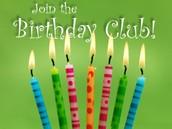 Birthday Club!