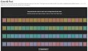 Farnsworth-Munsell 100 Hue color vision Test