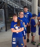 Special Olympians Compete in Area Track Meet!