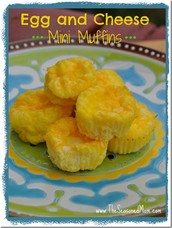 Breakfast #2 Egg and Cheese Mini Muffins