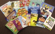 Thank you for all your book certificates!  Look at all of the new books for the classroom!  Thank you!  Thank you!