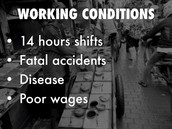 conditions in the factory