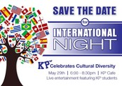 International Night - Volunteers and Donations Needed!