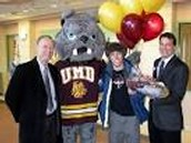 University of Duluth's mascot