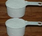 Deux tasse de farine