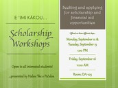 Halau Scholarship Workshop