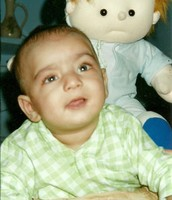 Here is Aashir at 4 months old