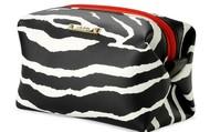 Cosmetic Pouf - Zebra