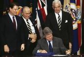 NAFTA Signed