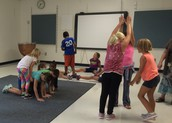 Grade 4 - Dance Routines to Demonstrate Speed & Energy