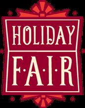Holiday Fair TODAY!