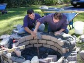 Building Fire Pits