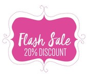 One Last Flash Sale Before the Holidays!