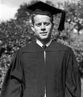 John Kennedy graduating