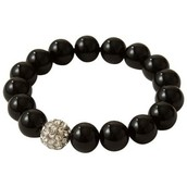 Soiree black Braclet