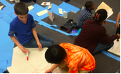 6th graders in a PBL about the Zhou Dynasty