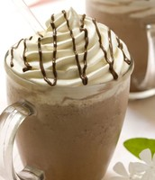 Nice, cold frappuccinos, Yum!