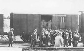 after the war the remaining Jews were sent home on trains