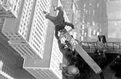 Man on highest pole
