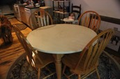 "48"" Table with 4 Chairs"