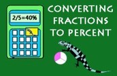 Percent to fraction