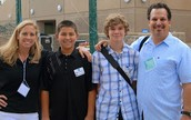 iMiddle students and teachers presenting at local Tech Conference