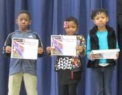 Second Grade Principal's Honor Awardees