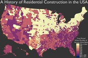 Constuction Map of USA