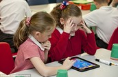 We use iPads in the classroom to help the kids.