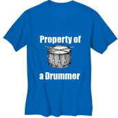 Property of a Drummer