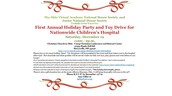 National Honor Society First Annual Holiday Party and Toy Drive
