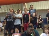 The only freshmen with spirit :)