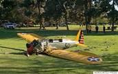 Harrison Ford's crashed plane