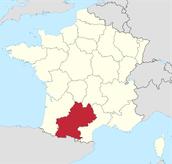 Une Carte de Les Midi-Pyrénées