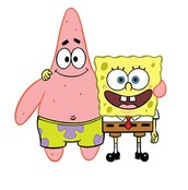 Sbongebob and Patrick best friends ever