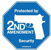this picture shows how people have the right to own a gun an is protected by the 2nd amendment