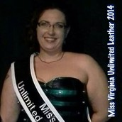 Angel Noir- Miss Virginia Unlimited Leather