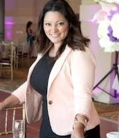 Event planner doing her job at a event